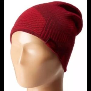 Nike black/red beanie one size fits all
